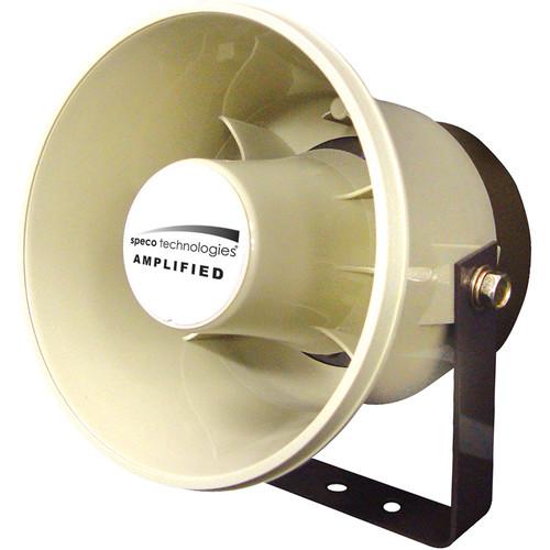 "Speco Technologies 6"" ABS Plastic 20-Watt Amplified Weatherproof P.A. Speaker"