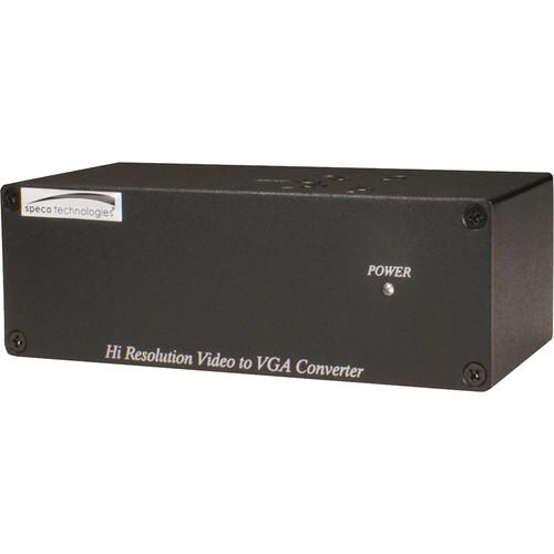 Speco Technologies High Resolution Video to VGA Converter