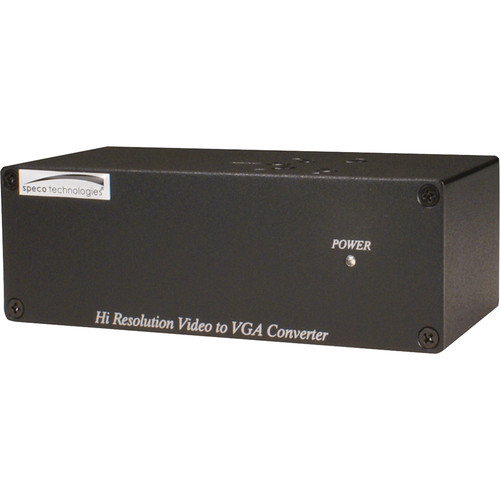 Speco Technologies High Resolution Video to VGA Converter
