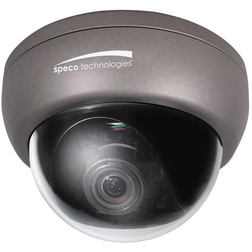 Speco Technologies CCLR13D1G Weather/Vandal/Tamper-Resistant Color Dome Camera with 2.8 to 12mm Varifocal Lens with Chameleon Cover