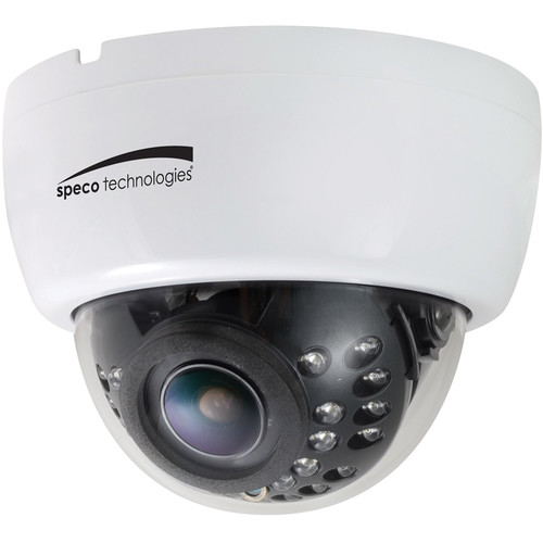Speco Technologies 700 TVL Indoor Dome Camera with 2.8 to 12mm Varifocal Lens (White Housing)