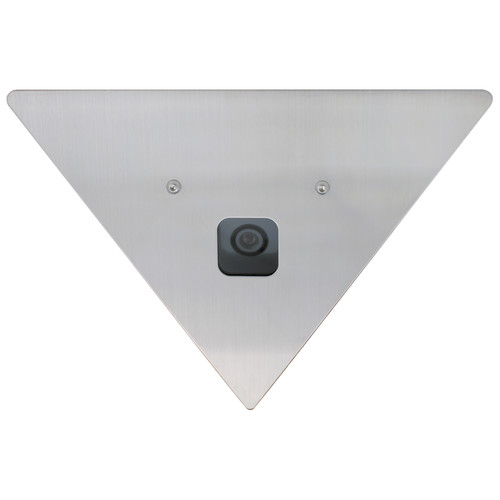 Speco Technologies CVC605CM 960H Corner Mount Color Camera with 2.5mm Lens (NTSC, White Stainless Steel Housing)