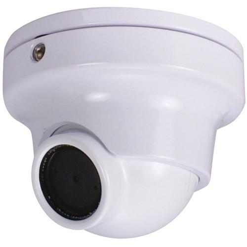 Speco Technologies CVC61HRW Weather-Resistant Miniature Turret Color Camera (White)