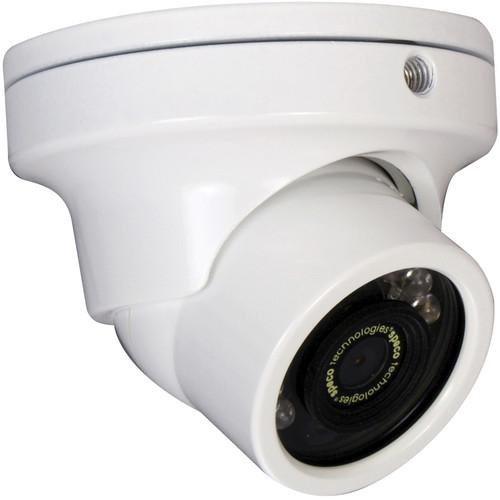 Speco Technologies CVC71HRW Miniature Vandal-Resistant Color Camera with IR LEDs (White)