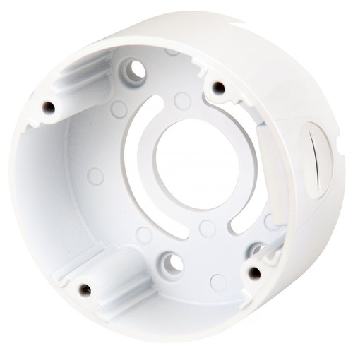 Speco Technologies CVCJBB Round Junction Box (White)