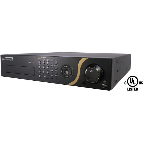 Speco Technologies 24-Channel GS Hybrid DVR with Digital Deterrence & 6TB HDD