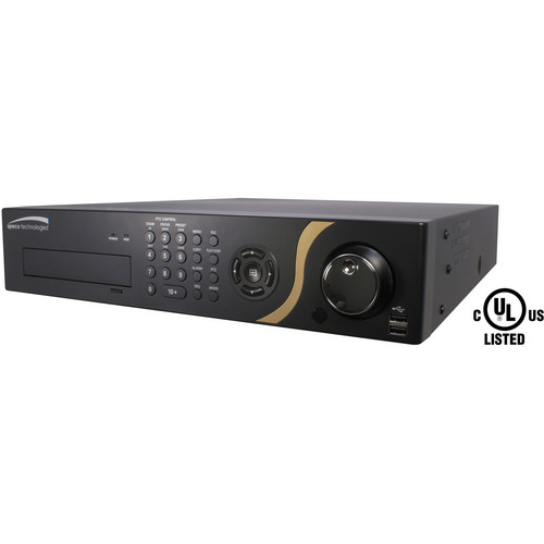 Speco Technologies 32-Channel GS Hybrid DVR with Digital Deterrence & 8TB HDD