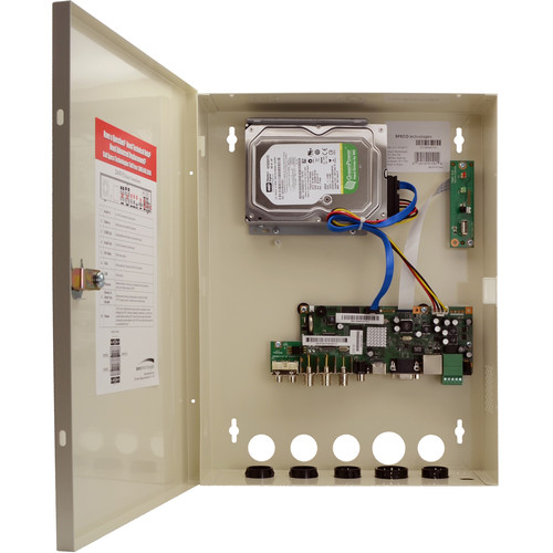 Speco Technologies 4-Channel Wall Mount DVR (8TB)