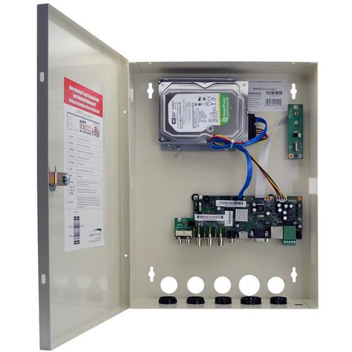 Speco Technologies 4 Channel Higher MP TVI Wallmount DVR - 8TB