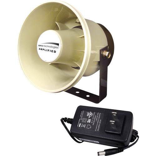 Speco Technologies DDAK4 Digital Deterrent Kit with Amplified Horn Speaker and Power Supply