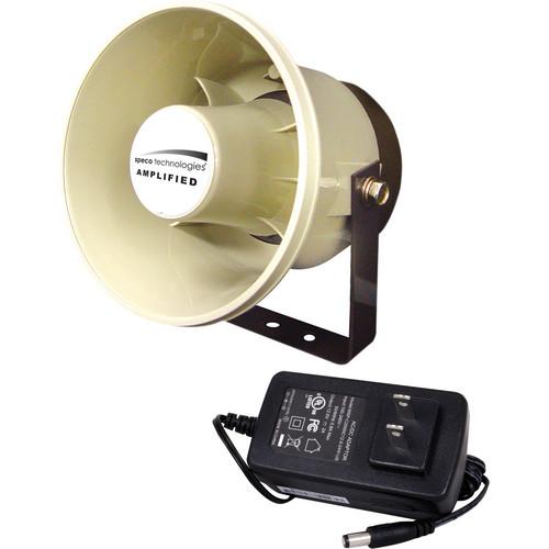 Speco Technologies DDAK4 Digital Deterrent Kit with Amplified Horn Speaker and Power Supply