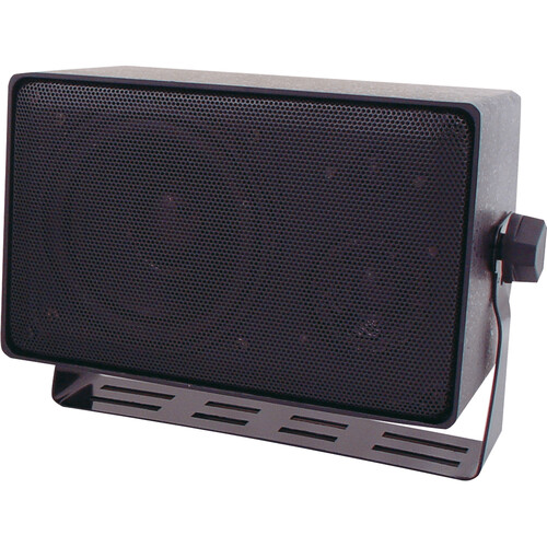 Speco Technologies DMS3TS 3-Way All Weather Mini Speaker with Line Transformer (Black)