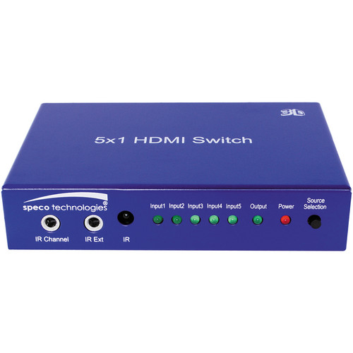 Speco Technologies HDMI 1 to 5 Switcher