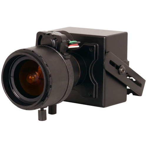 Speco Technologies Intensifier H Miniature Board Camera with 2.8-12mm Auto Iris Varifocal Lens