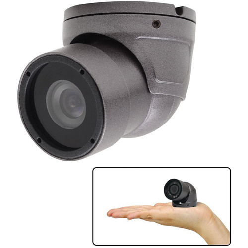 Speco Technologies Intensifier H Weather-Resistant 2.9mm Mini Turret Camera Dark Gray