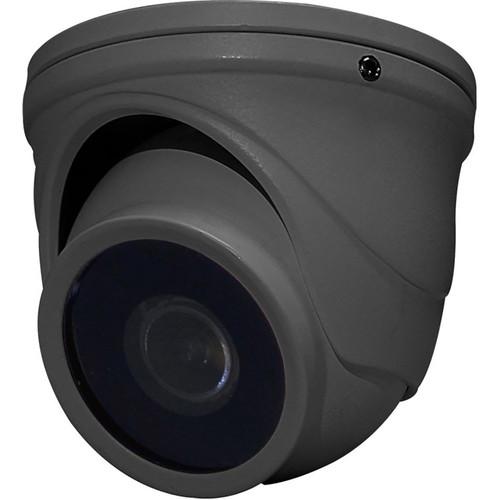 Speco Technologies Intensifier T 2MP Outdoor HD-TVI Mini Turret Camera (Dark Gray)