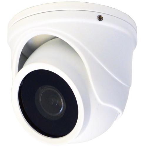 Speco Technologies Intensifier T 2MP Outdoor HD-TVI Mini Turret Camera (White)