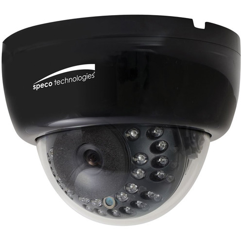 Speco Technologies 960H 2.8 to 12mm Indoor Dome Camera with Night Vision (Black)