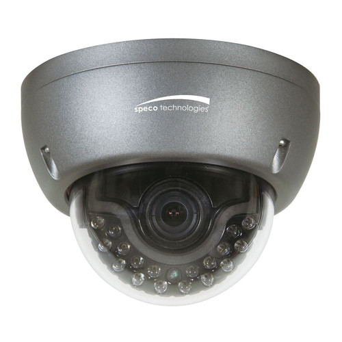 Speco Technologies 1000TVL Analog IR Vandal-Resistant Dome Camera with WDR
