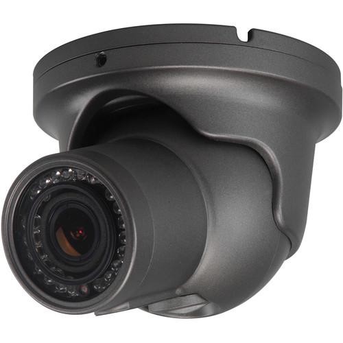 Speco Technologies Intense IR Series 1000 TVL Indoor/Outdoor Vandal-Resistant True WDR IR Turret Camera with 2.8 to 12mm Lens (NTSC, Dark Gray)