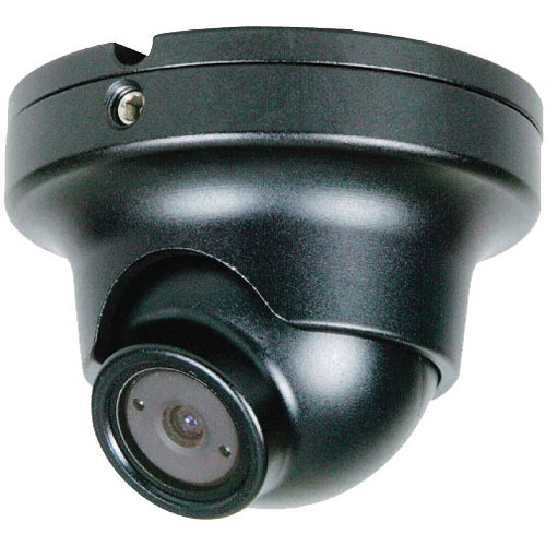 Speco Technologies HT66iLHB 960H Intense Light Weather/Vandal Resistant Miniature Turret Camera with 2.5mm Fixed Lens (Black)