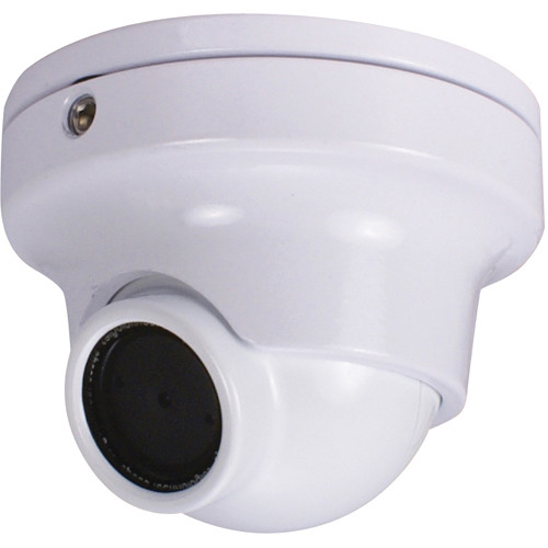Speco Technologies HT66iLHW 960H Intense Light Weather/Vandal Resistant Miniature Turret Camera with 2.5mm Fixed Lens (White)