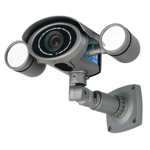 Speco Technologies HT7049IRVF Day/Night Weather-Resistant IR Bullet Camera with 6 to 50mm Varifocal Lens and Digital Noise Reduction