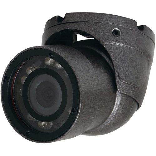 Speco Technologies 960H 700 TVL Weather Resistant Miniature Turret Color Camera with 2.9mm Fixed Lens (Dark Grey Housing)
