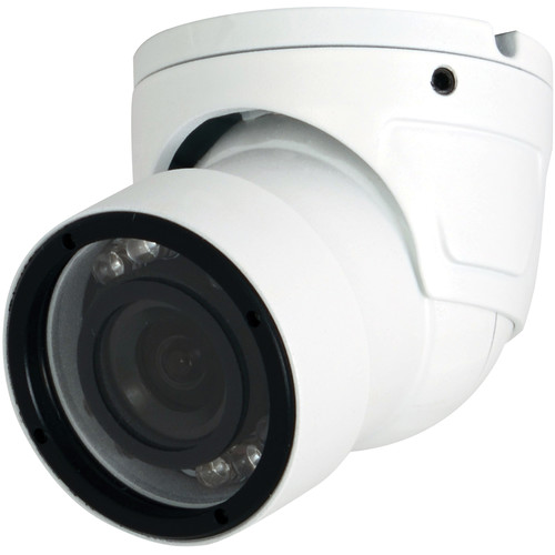 Speco Technologies 960H 700 TVL Weather Resistant Miniature Turret Color Camera with 2.9mm Fixed Lens (White Housing)