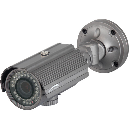 Speco Technologies HTB10XH 960H 3.8 to 38mm Indoor/Outdoor Day/Night IR Bullet Camera (Dark Gray, NTSC)