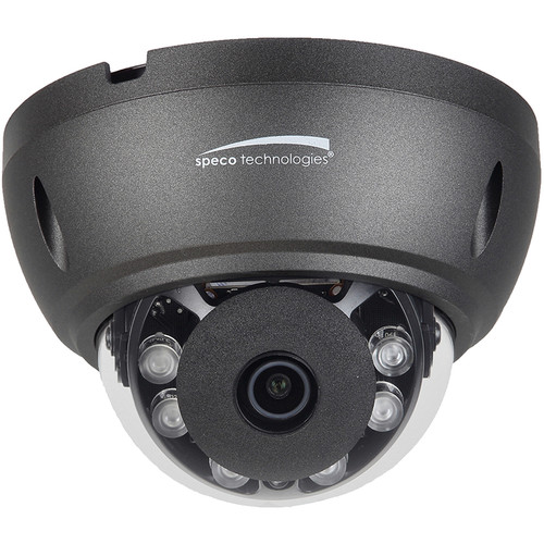 Speco Technologies HTD8TG 8MP Outdoor HD-TVI Dome Camera