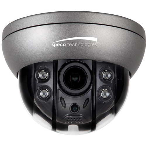 Speco Technologies Flexible Intensifier 2MP HD-TVI Outdoor Dome Camera with Night Vision