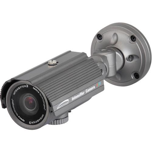 Speco Technologies Intensifier3 Series Day/Night Indoor/Outdoor Turret Camera with 9 to 22mm Varifocal Lens (Dark Gray)
