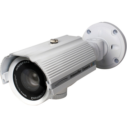 Speco Technologies Intensifier3 Series Day/Night Indoor/Outdoor Turret Camera with 9 to 22mm Varifocal Lens (White)