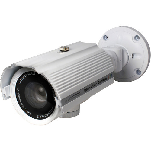 Speco Technologies Intensifier3 Weatherproof Bullet Camera with 2.8-12mm Varifocal Lens (White)