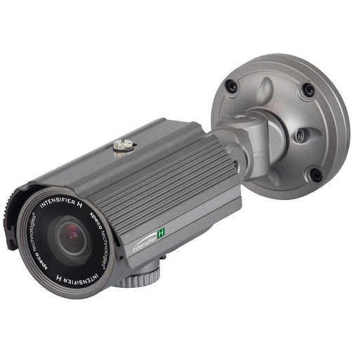 Speco Technologies Intensifier H Indoor/Outdoor 5 to 50mm Varifocal Bullet Camera Gray