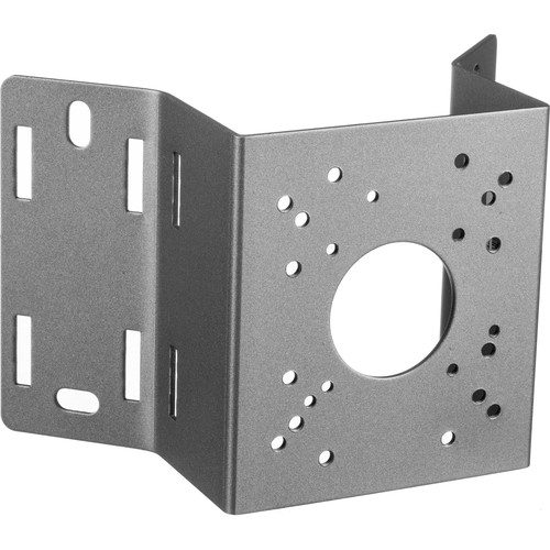 Speco Technologies INTCM Corner/Pole Mount for Analog and HD-SDI Bullet Cameras (Silver)