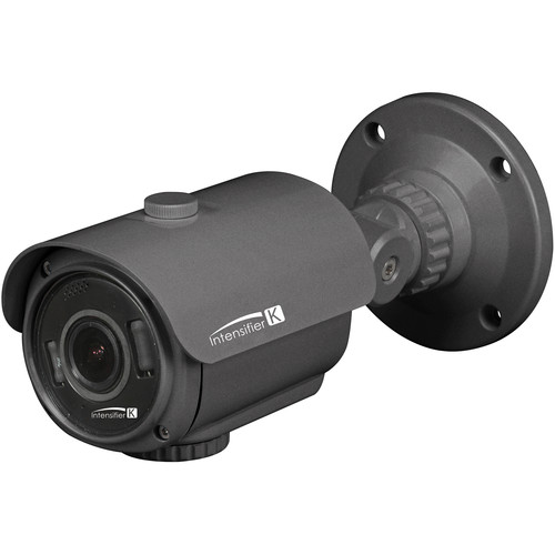 Speco Technologies Intensifier K Series HTINT70K Indoor/Outdoor Vandal-Resistant Bullet Camera with Heater (NTSC, Dark Gray)