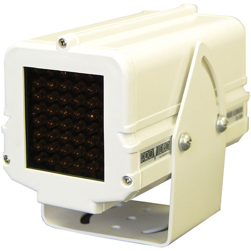 Speco Technologies Indoor/Outdoor 48 Infrared LED Illuminator (117V, White Housing)