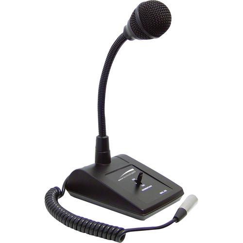 Speco Technologies MHL5S Adjustable Gooseneck Tabletop Microphone