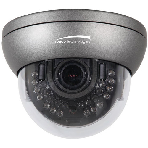 Speco Technologies 2MP Outdoor Network Dome Camera with 3 to 10mm Varifocal Lens