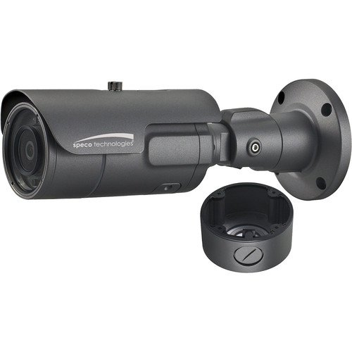 Speco Technologies Intensifier O2iB68M 2MP Outdoor Network Bullet Camera with 2.7-12mm Lens & Heater