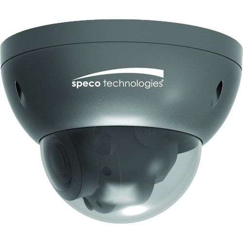Speco Technologies Intensifier O2iD21M 2MP Outdoor Network Dome Camera with 2.8-12mm Lens