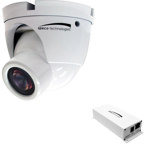 Speco Technologies O2IMT61 Intensifier IP Full HD 1080p Indoor/Outdoor Miniature Turret IP Camera with 2.9mm Fixed Lens (White)