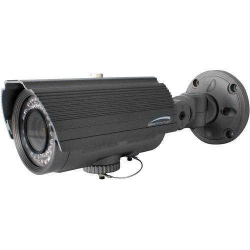 Speco Technologies O2IR56B1 OnSIP Series Full 1080p IP Outdoor IR Mp Bullet Camera with 2.8 to 10mm Auto Iris Varifocal Lens