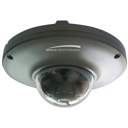 Speco Technologies O2MD2 2MP Outdoor Network Mini Dome Camera with Night Vision (Dark Gray)