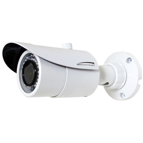 Speco Technologies 2MP Day/Night IP Bullet Camera with 2.8 to 12mm Varifocal Lens (White Housing)