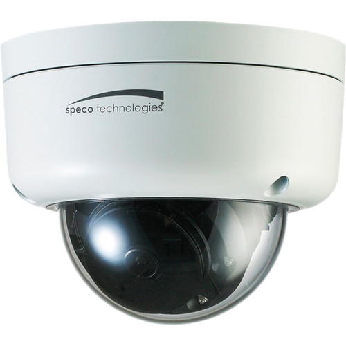 Speco Technologies O3FD8M 3MP Outdoor Network Dome Camera with Night Vision (White)