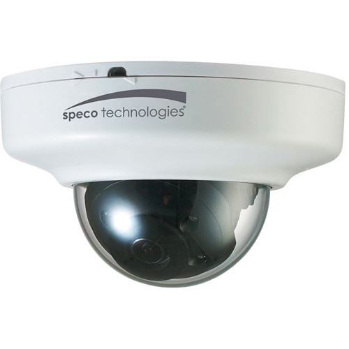 Speco Technologies Flexible Intensifier 3MP Network Mini-Dome Camera with Night Vision