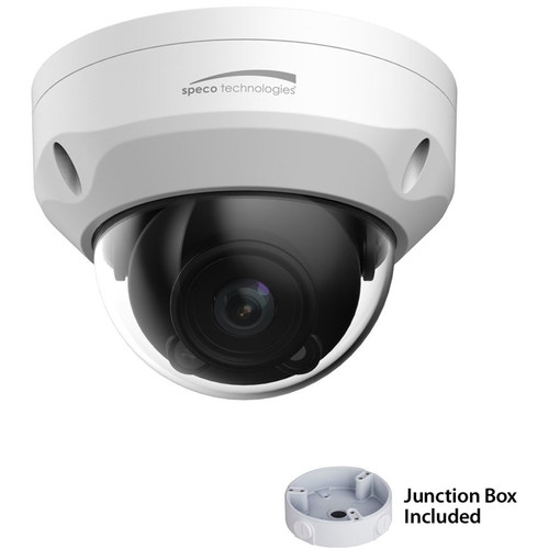 Speco Technologies O3VFDM 3MP Outdoor Network Dome Camera with Night Vision & Junction Box